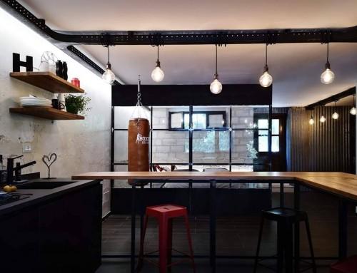 Realizzazione di un Loft in stile moderno