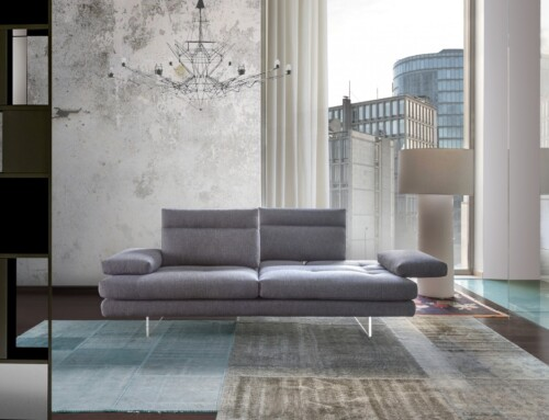 Toby Wing di Calia Italia: day bed inconfondibile!