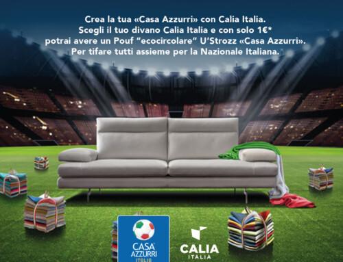 Casa Azzurri con Calia Italia! Tifiamo insieme la Nazionale Italiana!